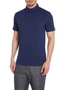 Peter Werth Lombard Textured Slim Fit Polo Shirt