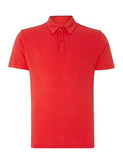 Lombard Textured Slim Fit Polo Shirt