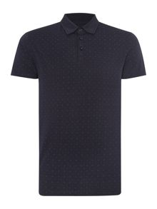 Danny Pattern Slim Fit Polo Shirt