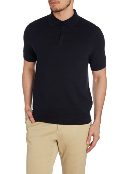 Peter Werth Joey Pattern Slim Fit Polo Shirt