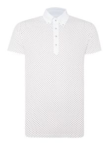 Ritchie Polka Dot Slim Fit Polo Shirt