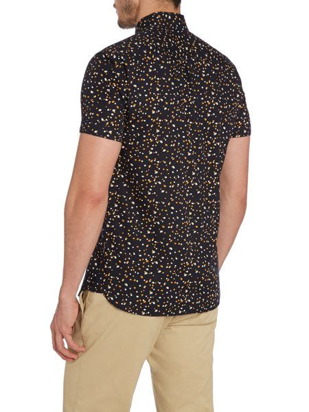 Peter Werth Hogarth Floral Slim Fit Short Sleeve Classic Coll