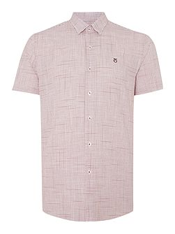 Drayton Check Slim Fit Short Sleeve Shirt