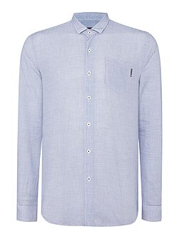 Dawson Pattern Slim Fit Long Sleeve Button Down