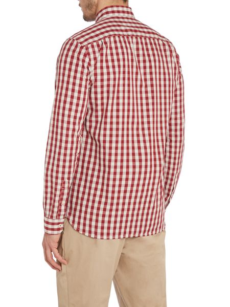 Peter Werth Dana Check Slim Fit Long Sleeve Button Down Shirt