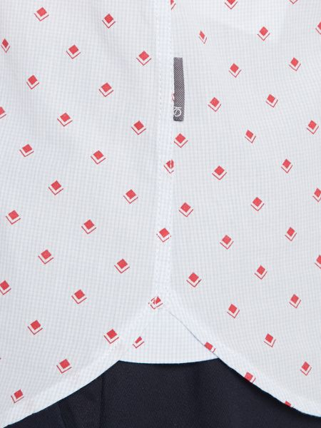 Peter Werth Doyle Pattern Slim Fit Long Sleeve Button Down Sh