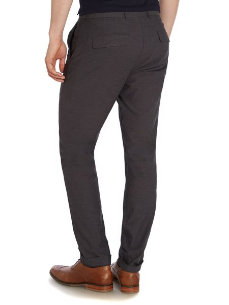 Peter Werth Renshaw Pindot Slim Fit Tailored Trousers