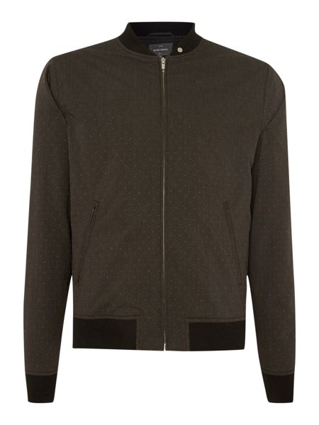 Peter Werth Smeaton Full Zip Bomber Jacket