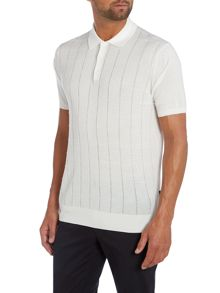 Shaw Textured Polo Slim Fit Polo Shirt