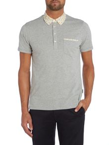 Peter Werth Begin Floral Polo Slim Fit Polo Shirt