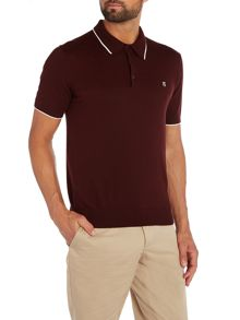 Peter Werth Bernwell Plain Polo Slim Fit Polo Shirt