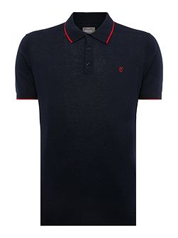 Bernwell Short Sleeved Cotton Polo Shirt