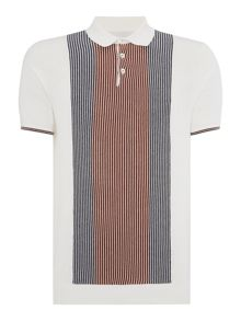 Peter Werth Headly Stripe Polo Slim Fit Polo Shirt