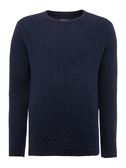 Billie Bubble Pattern Crew Neck Pull Over Jumpers