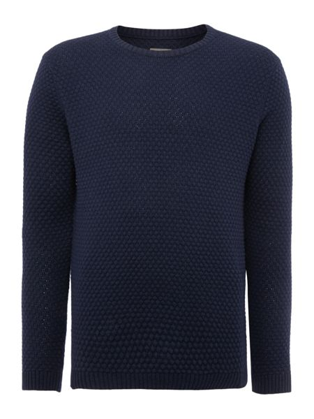 Peter Werth Billie Bubble Pattern Crew Neck Pull Over Jumpers