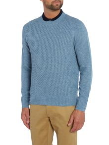 Peter Werth Dykan Pattern Crew Neck Pull Over Jumpers