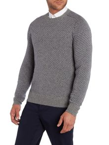 Stanley Pattern Crew Neck Pull Over Jumpers