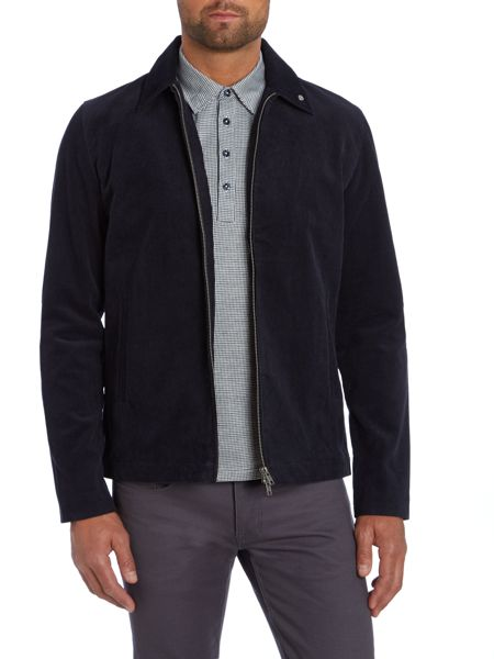 Peter Werth Palm Cord Full Zip Bomber Jacket