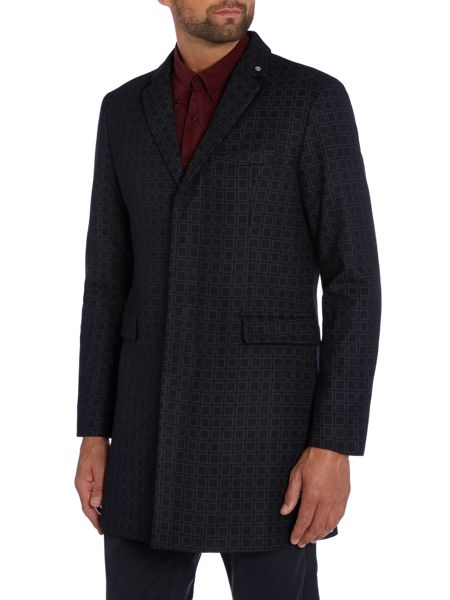 Peter Werth Cropley Button Overcoat