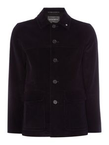 Bauhaus Cord Donkey Button Pea Coat