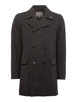 Walney Blake Button Pea Coat