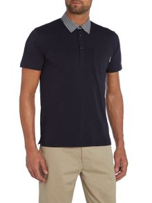 Peter Werth Vantage Plain Polo Slim Fit Polo Shirt