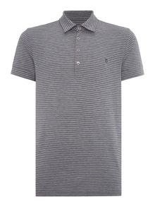 Peter Werth Vista Stripe Polo Slim Fit Polo Shirt