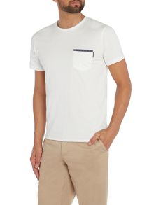 Edge Plain Crew Neck Slim Fit T-Shirt