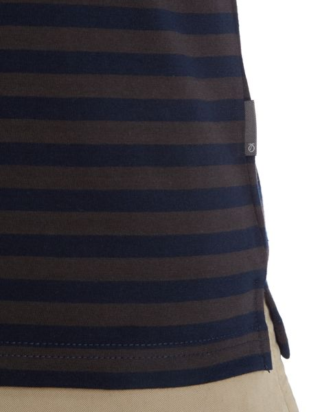Peter Werth Boiler Textured Polo Slim Fit Polo Shirt