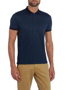 Peter Werth Quest Print Polo Slim Fit Polo Shirt