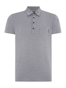 Peter Werth Voyage Check Polo Slim Fit Polo Shirt