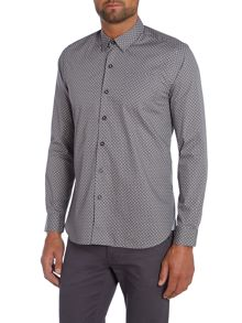 Peter Werth Henshall Polka Dot Shirt