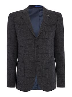 Gating Button Blazer