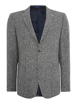 Salt Wood Button Blazer