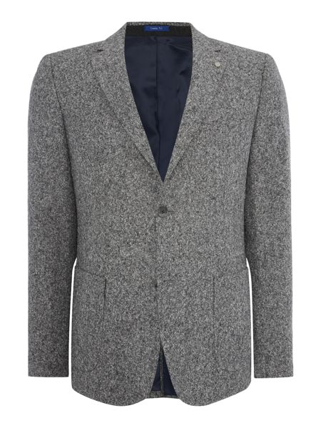Peter Werth Salt Wood Button Blazer