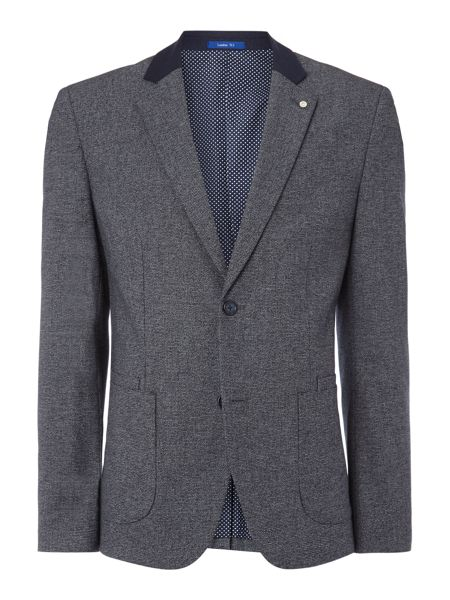 Peter Werth Souvenir Textured Patch Pocket Blazer