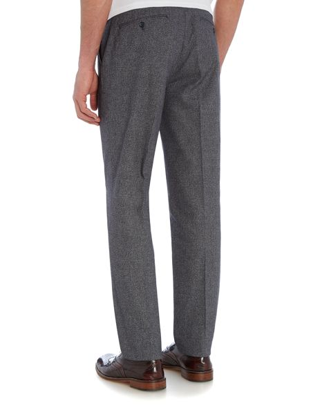 Peter Werth Souvenir Textured Flat Fronted Trouser