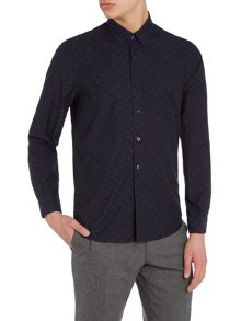 Peter Werth Solstice Polka Dot Dobby Shirt