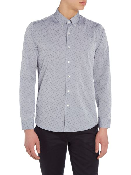 Peter Werth Dalby Button Down Collar Dobby Shirt