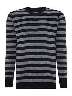 Lodge Wide Stripe Jumper