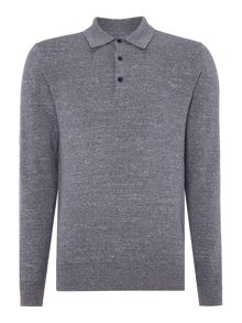 Peter Werth Dentan Long Sleeved Polo Shirt