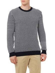 Peter Werth Ride Double Yarn Chunky Crew Neck Jumper