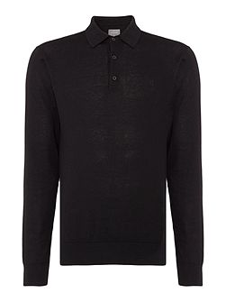 Hemingford Monro Fine Gauge Knitted Polo