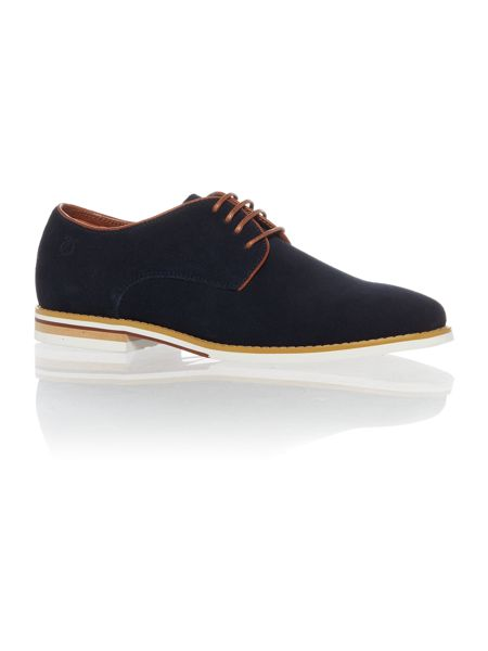 Peter Werth Nesbitt Contrast Split Sole Derby Navy
