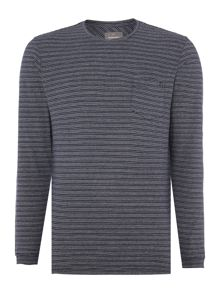 Churchill Stripe Crew Neck Jumper