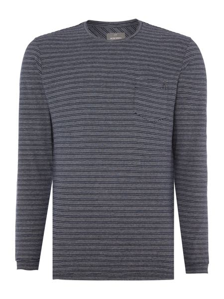 Peter Werth Churchill Stripe Crew Neck Jumper