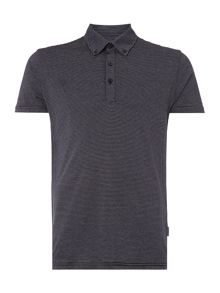 Peter Werth Ravel Dash Stripe Polo Shirt