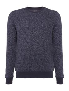 Peter Werth Sketch Multi Yarn Crew Neck Sweatshirt