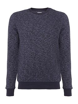 Sketch Multi Yarn Crew Neck Sweatshirt