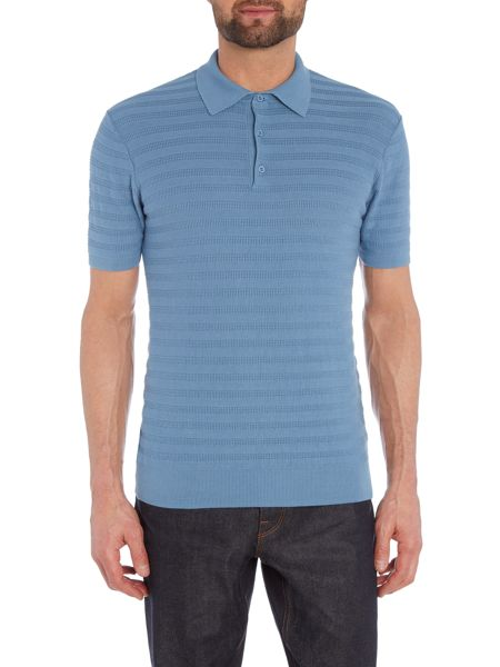 Peter Werth Lense Cotton Short Sleeved Polo
